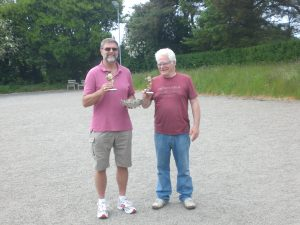 John & Ian Winners 2016