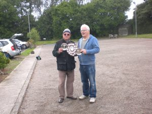 Gilles and John H- Bass Shield winners 2 July 2016